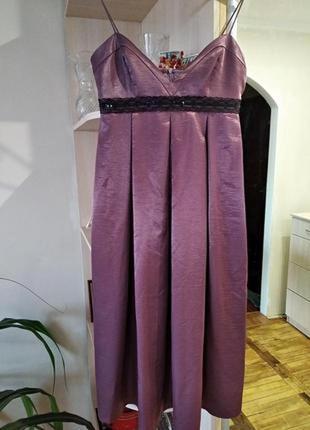 Красивое летнее  платье- миди  для девочки,девушки,высокое качество,р.xs/42