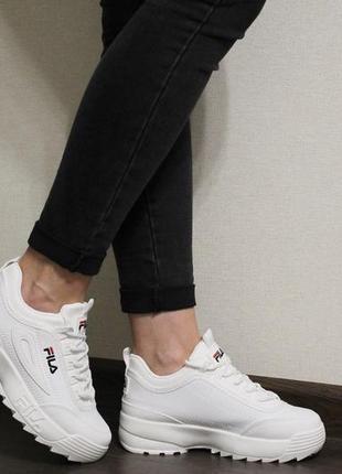 Модные женские белые кроссовки (кросовки, крипперы, кеды)2 фото