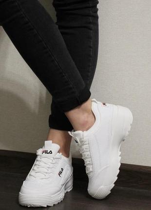 Модные женские белые кроссовки (кросовки, крипперы, кеды)3 фото