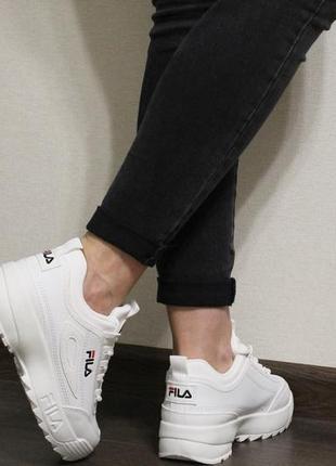 Модные женские белые кроссовки (кросовки, крипперы, кеды)4 фото