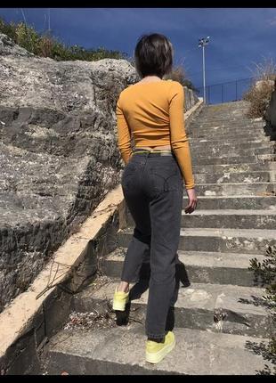 Новые прямые плотные джинсы calvin klein оригинал, аутлет4 фото