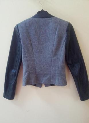 Косуха oodji куртка кожаная кожанка экокожа2 фото