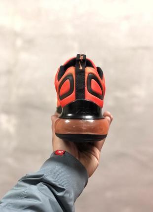 Шикарные женские кроссовки nike air max 720 orange6 фото