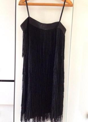 Купить платья с бахромой украина