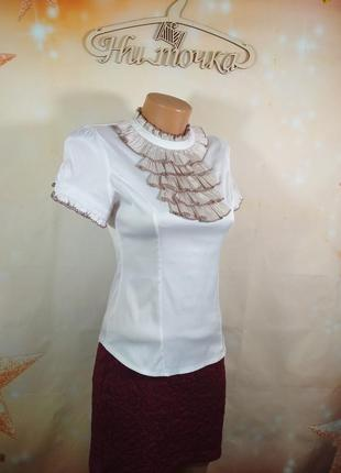 Блузка для школьницы 12 лет