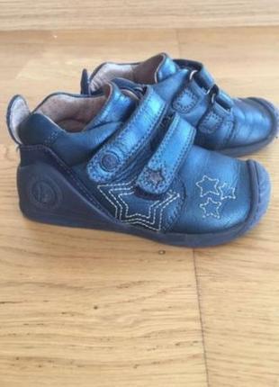 Ортопедические детские туфли ботинки кожа биомеханик biomecanics, р 23