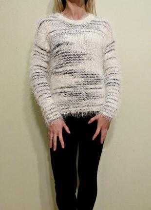 Пушистый свитер травка atmosphere3 фото
