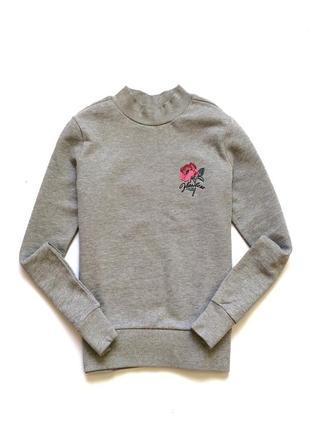 Свитшот reserved из органического хлопка,батник, реглан, блуза резервд