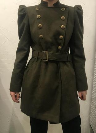 Пальто george в стиле милитари! жакет, плащ, тренч, куртка
