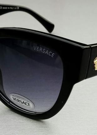 Versace женские солнцезащитные очки черные