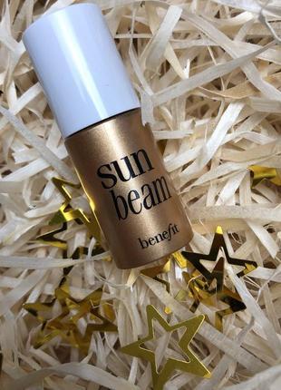 Средство для сияния кожи с эффектом загара benefit sun beam 4 ml