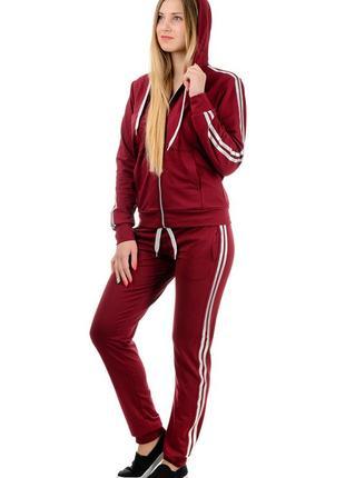Весенне-летний  спортивный костюм женский демисезонный, трикотажный