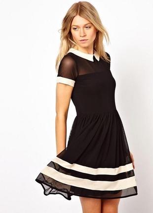 Платье в сетку asos