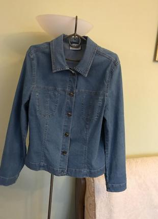 Легкая джинсовая курточка стрейч