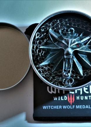 Кулон the witcher iii ведьмак геральт качество