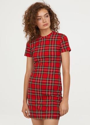 Міні плаття трикотажне h&m1 фото