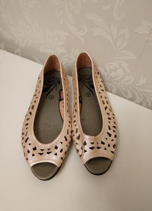 Женские балетки,женские туфли,туфли без каблука2 фото