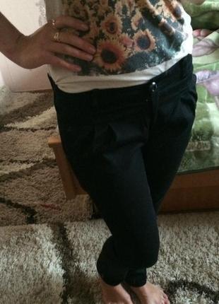 Шикарные чёрные брюки