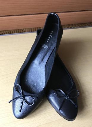 Кожаные туфли varese / италия