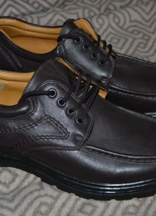 Новые мужские туфли smart uns 28.3 см 42-43 размер англия