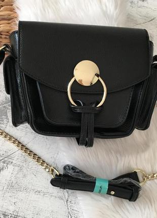 Стильна сумочка на довгому ремінці, кроссбоді