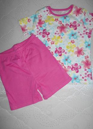 Пижама, комплект george 18-24 мес/86-92 см
