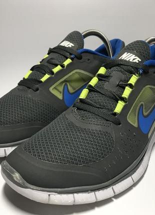 Мужские кроссовки nike free run 3