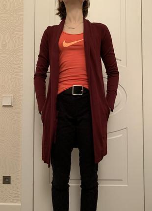 Кардиган кофта inwear бордовый