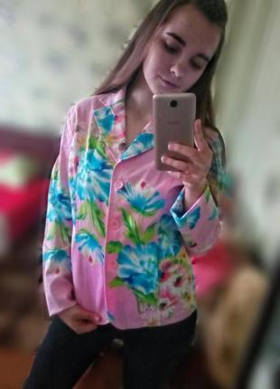 Пиджак с флористическим принтом kailu.🌼🌸🌼