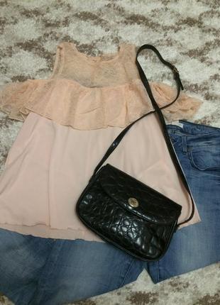 Крутая кожаная сумка absolu paris,лаковая сумочка кросс-боди+подарок ремешок