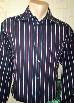 Рубашка  в полоску lerros, m