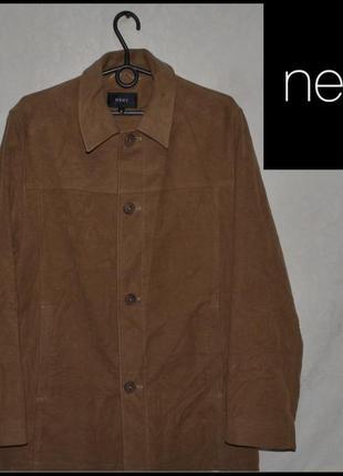 Брендовий жакет чоловічий next s-l [великобританія] (куртка мужская)