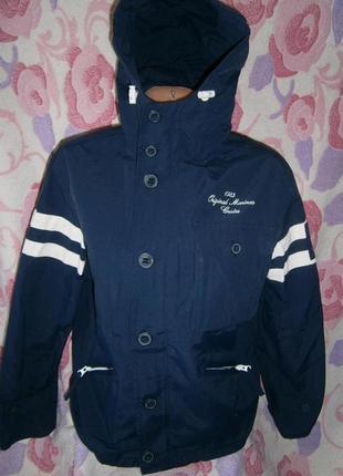 Куртка- ветровка ( термо) 12 лет