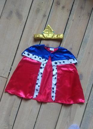 Карнавальный костюм принц король царь универсальный размер на ребенка
