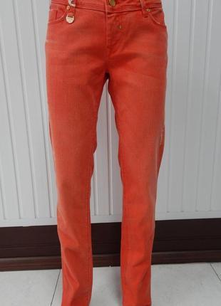 Оранжевые джинсы salsa jeans