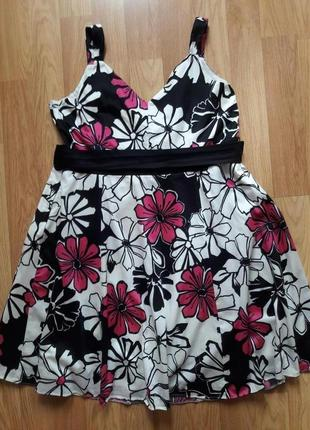 Красивое платье с натуральной ткани