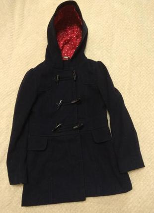 Пальто для девочки 8-10лет
