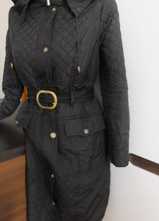 Молодежное демисезонное балоневое пальто с капюшоном nui very р.48