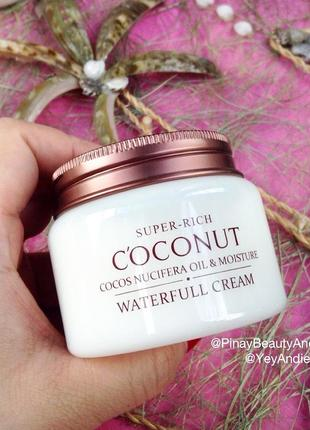 Культовый крем для увлажнения кожи с экстрактом кокоса2 фото