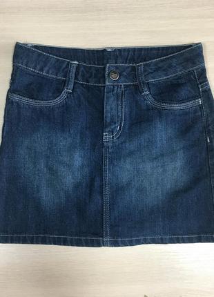 Джинсовая юбка на девочку р. 134/140 tcm tchibo