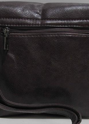 Женский клатч (коричневый) 19-03-0563 фото