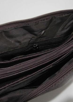 Женский клатч (коричневый) 19-03-0565 фото