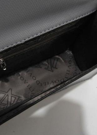 Женский клатч с заклёпками ( серый ) 19-03-0585 фото