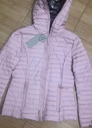 Розовая демисезонная классная куртка