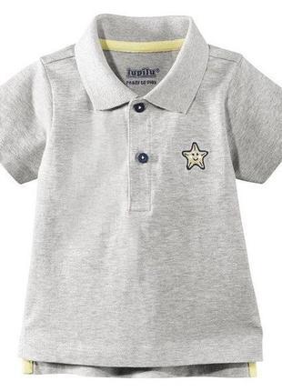 Трикотажная футболка поло.lupilu/германия.86-92