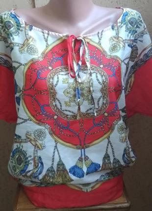 Легкая блузочка 028