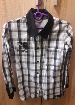 Фирменная рубашка puledro 128 см