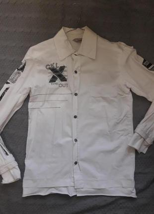 Фирменная рубашка на мальчика puledro 116