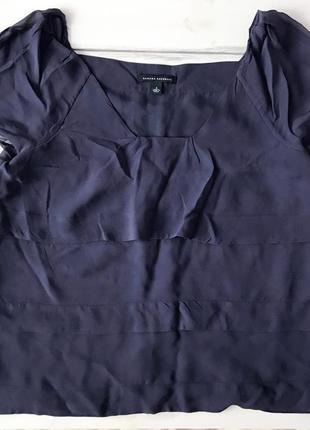 Очень классная шелковая блуза, футболка banana  republic