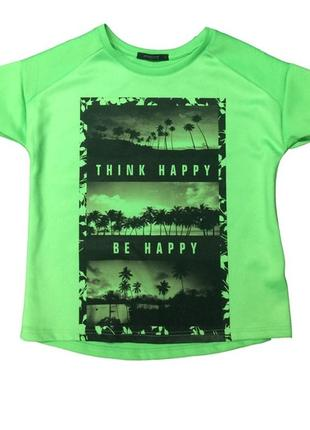 Зеленая футболка из неопрена primadonna collection